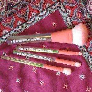 *3/$15* elf makeup brushes (4)